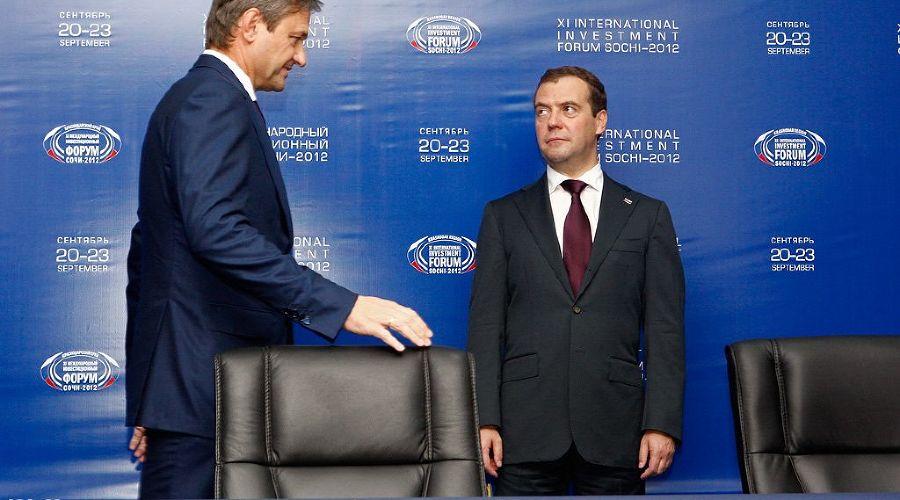 "2012 год в фотографиях. Медведев на инвестиционном форуме ""Сочи-2012""  ©http://www.yuga.ru/photo/1521.html"