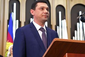 Инаугурация нового мэра Краснодара Евгения Первышова ©Юга.ру