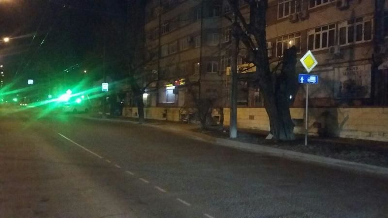 ВСтаврополе машина сбила пенсионерку, шофёр  исчез  сместа ДТП