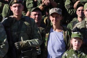 ©Кадр из клипа «На передовой» Юлии Чичериной