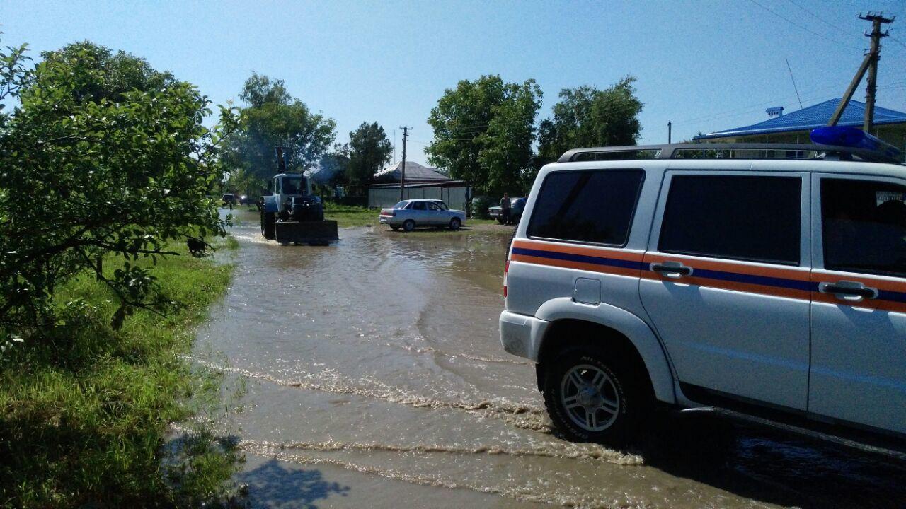 МЧС предупреждает о вероятном подъеме воды вреках наКубани