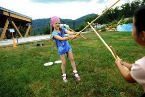 Активные развлечения на воздухе для взрослых и детей в скайпарке ©Фото пресс-службы Скайпарка AJ Hackett Sochi