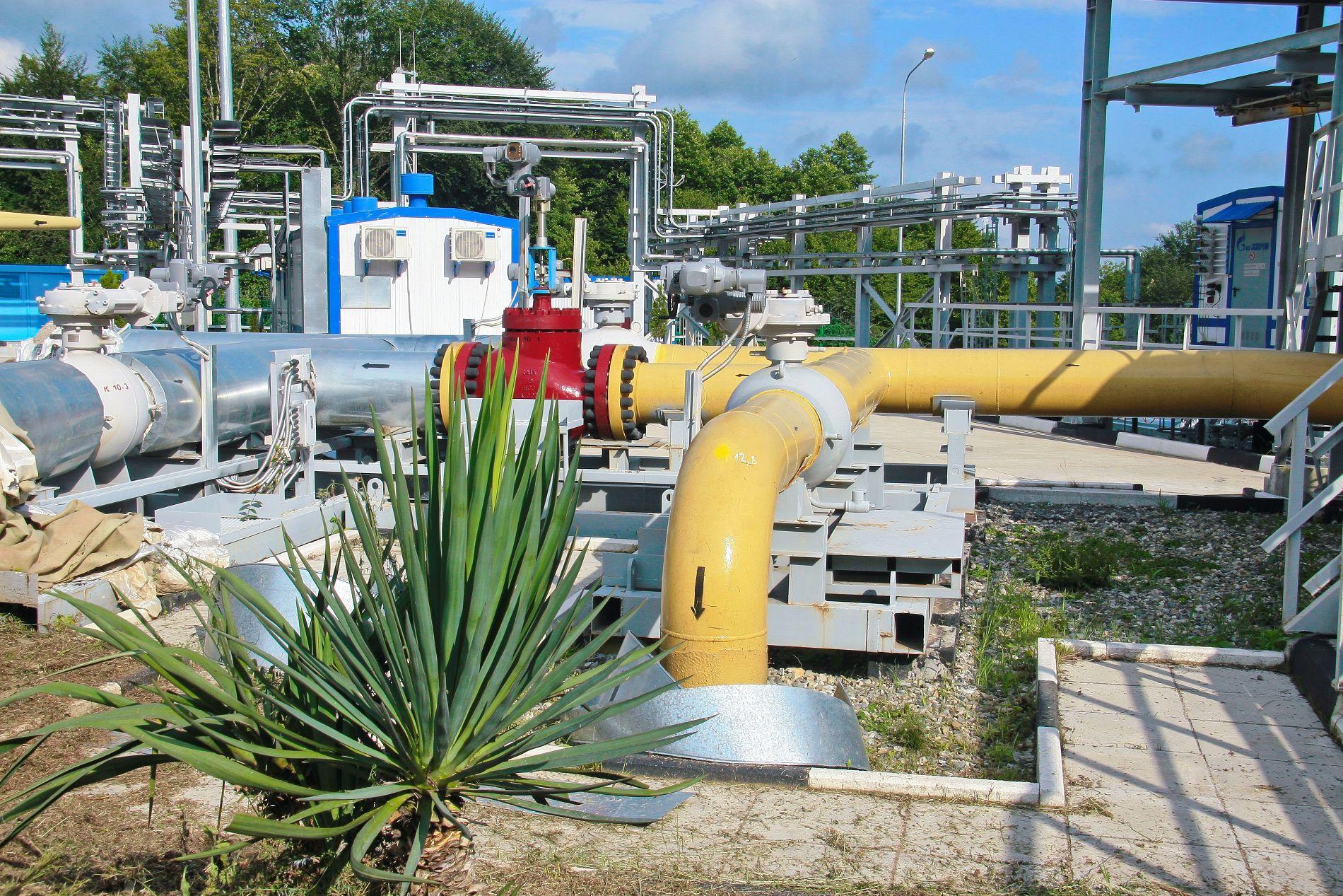 Газораспределительная станция ©Фото предоставлено пресс-службой ООО «Газпром трансгаз Краснодар»