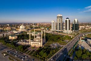 Мечеть «Сердце Чечни» ©Фото Славы Степанова