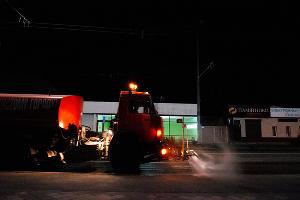 Дезинфекция общественных пространств в Краснодаре ©Фото Дмитрия Леснова, Юга.ру