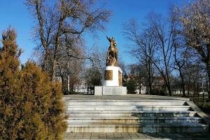 Сквер Казачьей Славы ©Фото пресс-службы администрации Краснодара