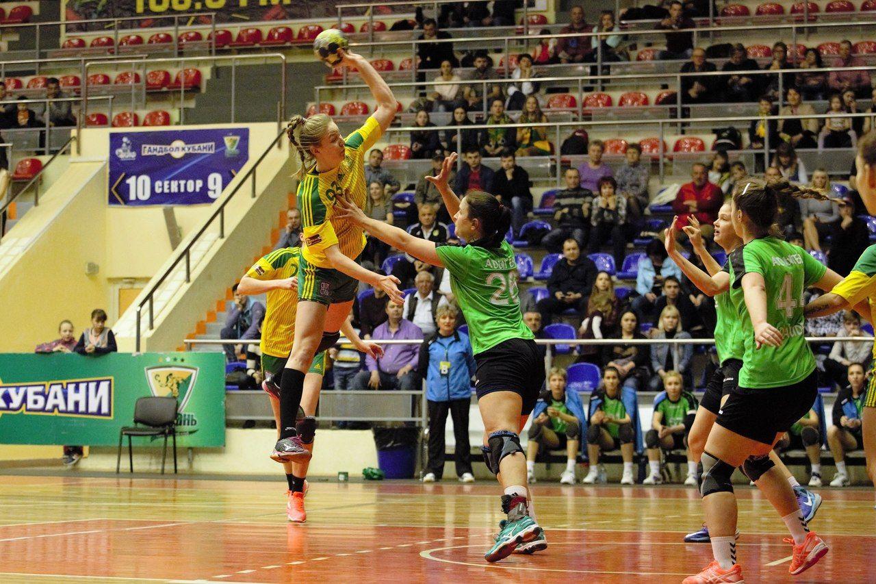 ГК «Кубань» одержал победу очередной матч чемпионата Российской Федерации
