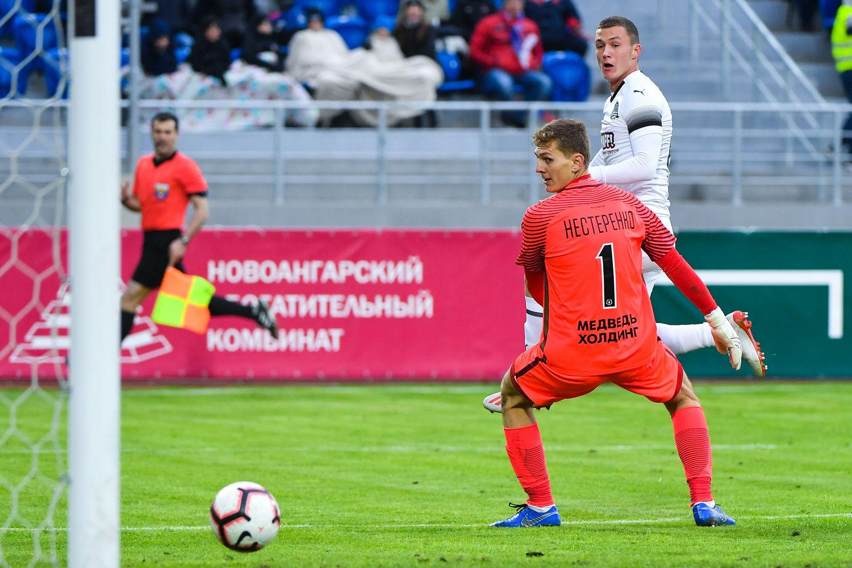 Матч «Енисей» — «Краснодар» ©Фото пресс-службы ФК «Краснодар»