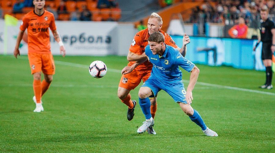 Матч «Урал» — «Ростов», Екатеринбург, 17 сентября 2018 года ©Фото из группы vk.com/fc_ue