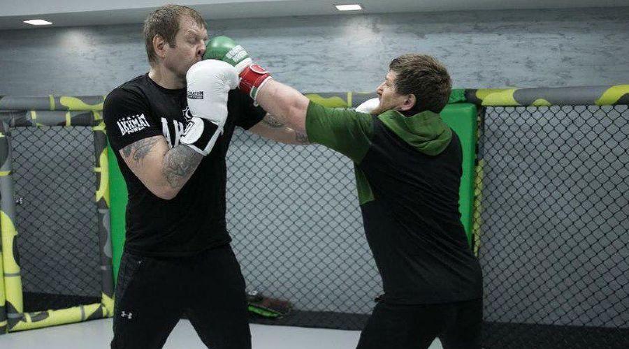 Александр Емельяненко и Рамзан Кадыров ©Фото со страницы instagram.com/alexemelyanenko