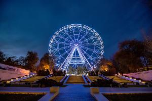 Колесо обозрения «Одно небо» ©Фото с сайта odnonebo.ru