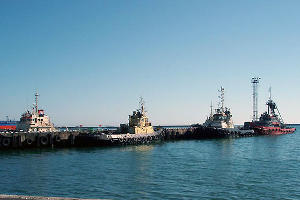 Туапсинский морской торговый порт ©Фото Юга.ру
