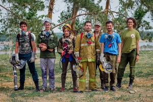 ©Фото предоставлено волонтерской группой «Добровольные пожарные Кубани»: