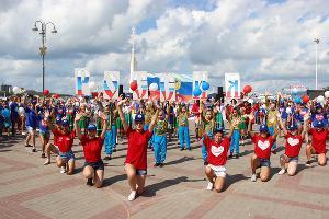 День флага в Геленджике ©Фото пресс-службы администрации Геленджика