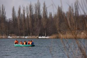 Учения МЧС по ликвидации последствий подтопления ©Фото Елены Синеок, Юга.ру