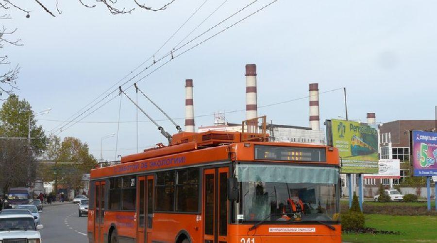 Троллейбусы ©Фото Юга.ру