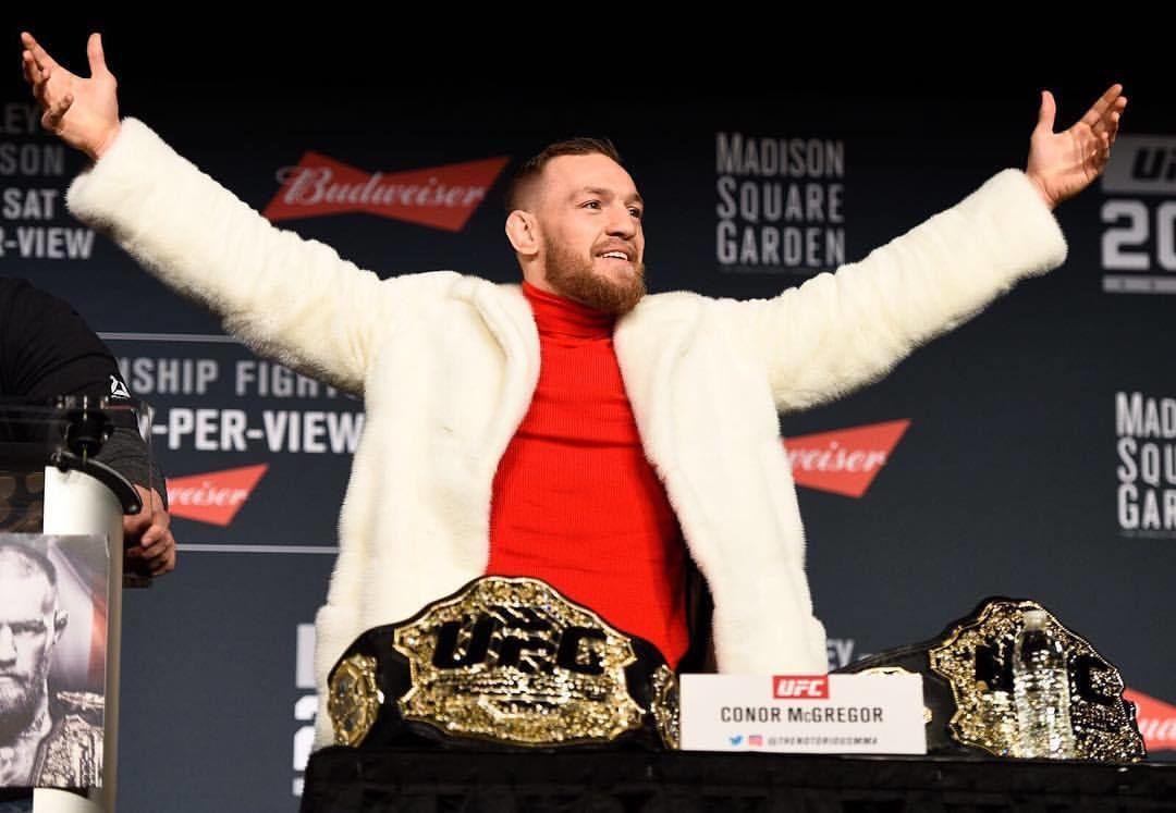 Конор МакГрегор подписал новый контракт с UFC на 8 боев