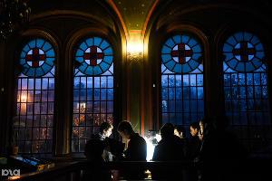 Воспитанники Екатеринодарской духовной семинарии на утренней службе в Свято-Троицком соборе, 27 октбяря ©Фото Юга.ру