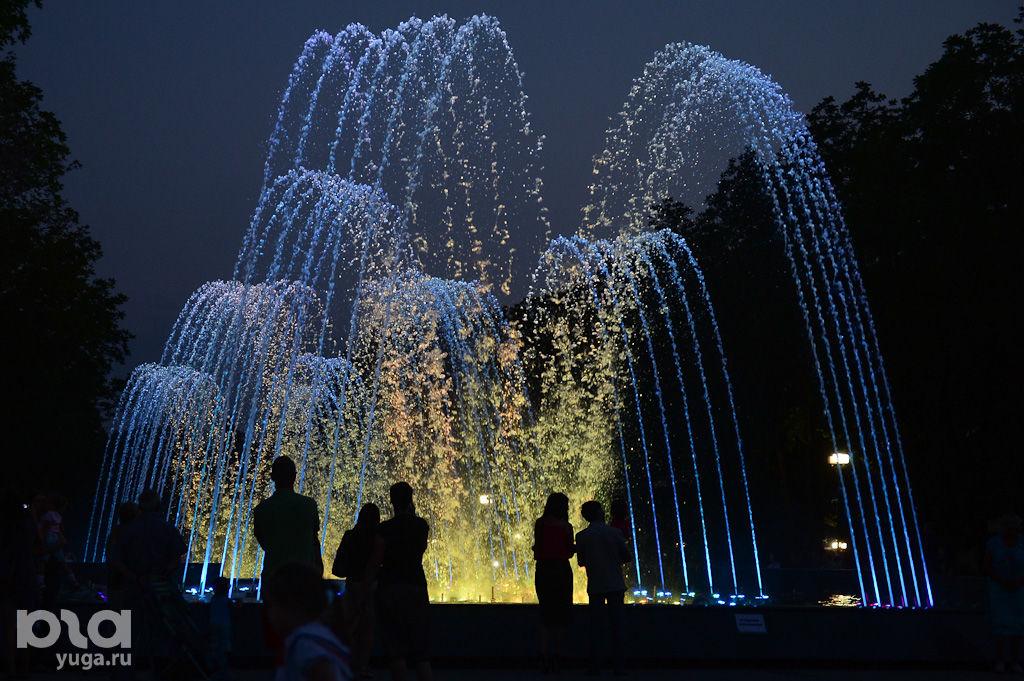 краснодар фонтан на кольце фото