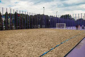 Спортивное пространство в парке «Краснодар»  ©Фото Елены Синеок, Юга.ру