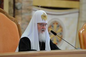 Патриарх Кирилл ©Фото с сайта patriarchia.ru