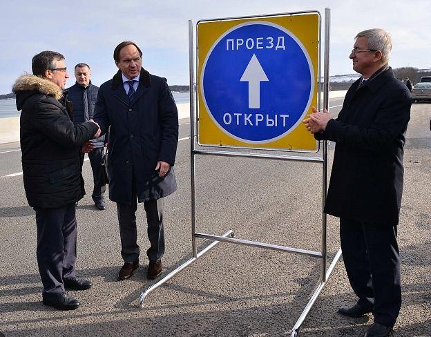 Два важных участка федеральной автодороги «Кавказ» откроют 20декабря