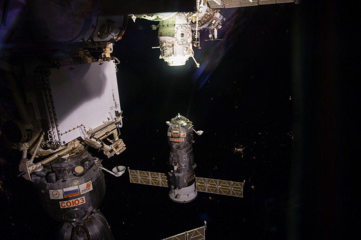 Грузовой космический корабль Прогресс МС-05