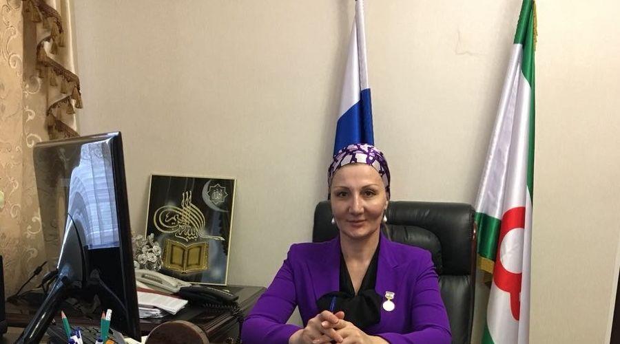 Марем Арапханова ©Фото пресс-службы министерства здравоохранения Ингушетии