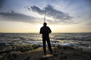 На берегу Каспийского моря ©Фото Елены Синеок, Юга.ру