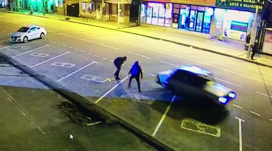 ©Кадр из видео с камеры наблюдения
