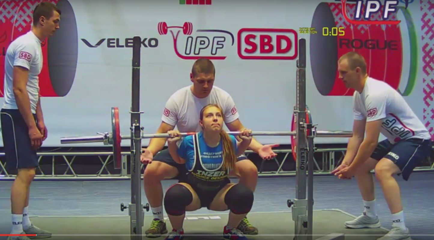 Кубанская спортсменка завоевала золото главенства мира попауэрлифтингу