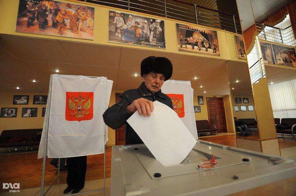 Выборы президента РФ в 2012 году ©Фото Елены Синеок, Юга.ру