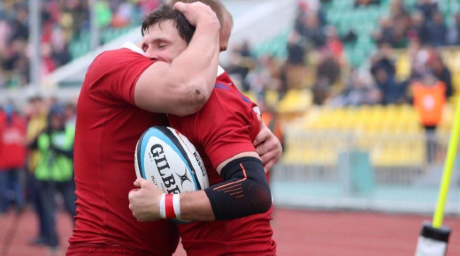 Матч «Россия» — «Намибия», Краснодар, 10 ноября 2018 года ©Фото из паблика «Федерация регби России», vk.com/rugby