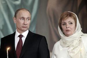 Владимир Путин и Людмила Путина ©vokrug.tv