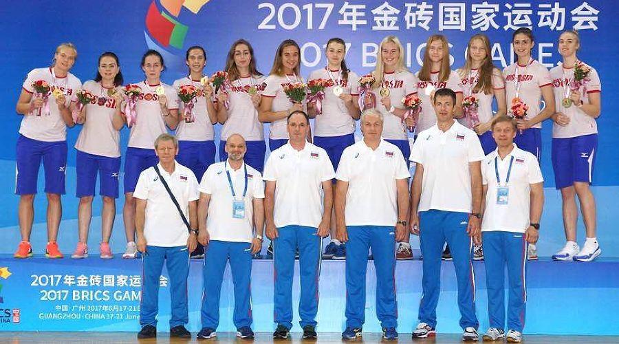 Молодежная сборная России по волейболу ©Фото пресс-службы Всероссийской федерации волейбола