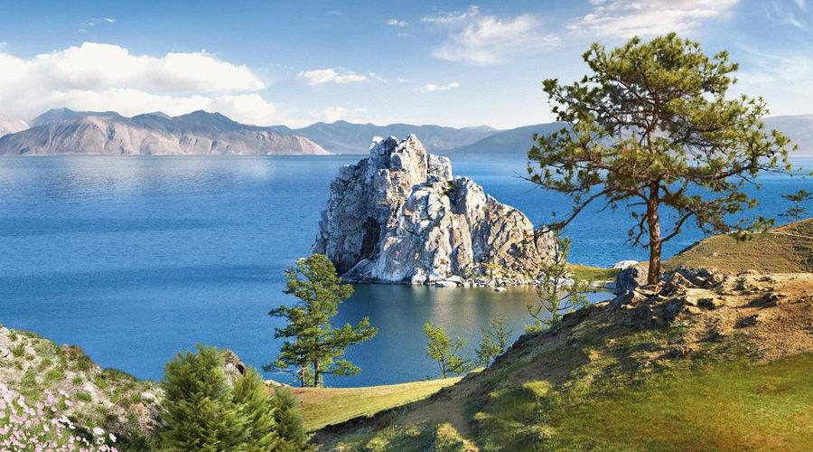 Озеро Байкал ©Фото Вадима Иванова с сайта commons.wikipedia.org