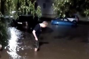 ©Скриншот видео из телеграм-канала «Новости | ЧП | ДТП Кропоткин», t.me/kropnewsru