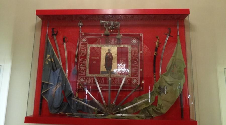 Казачьи регалии в музее им. Фелицына
