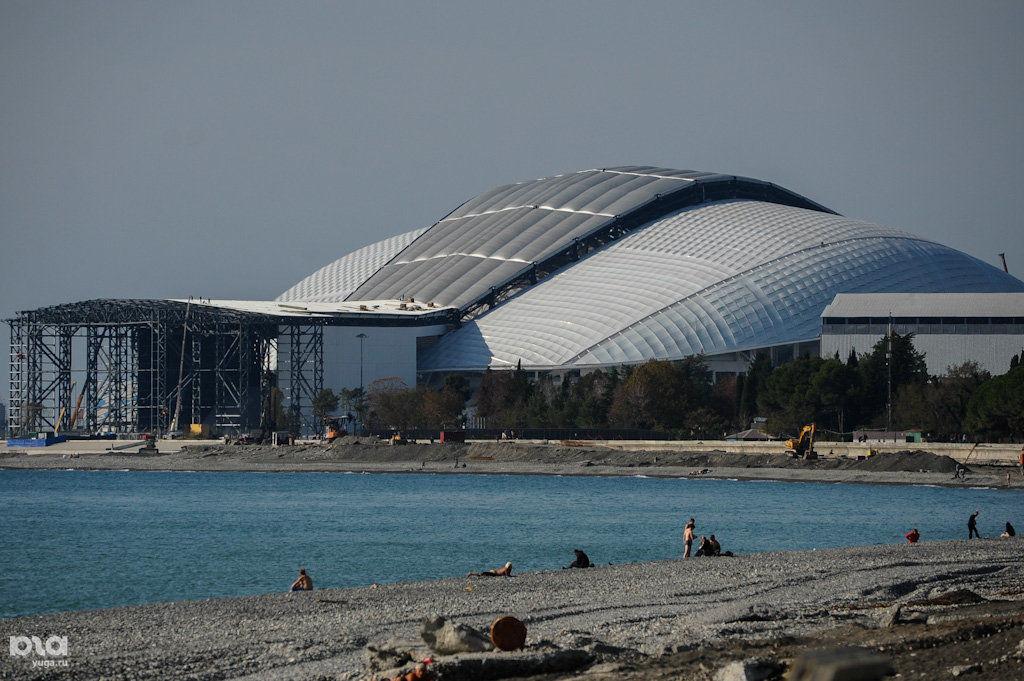 Стадион «Фишт», Сочи ©Фото Нины Зотиной, Юга.ру