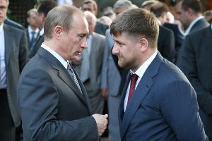 Владимир Путин и Рамзан Кадыров ©Фото с сайта President2012.ru