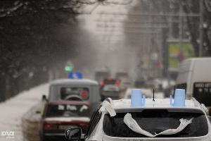 """Автопробег """"За честные выборы"""" в Краснодаре ©Сергей Карпов. ЮГА.ру"""