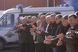 Спортивные состязания среди ветеранов ОВД на транспорте ©Михаил Ступин, ЮГА.ру