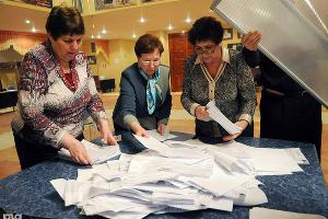 Подсчет голосов на выборах президента РФ ©Елена Синеок. ЮГА.ру