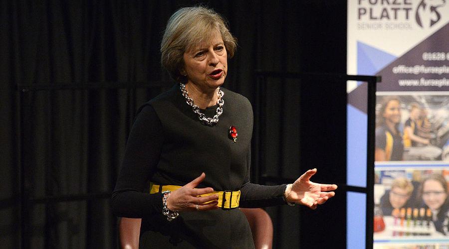 Тереза Мэй ©Фото с сайта www.tmay.co.uk