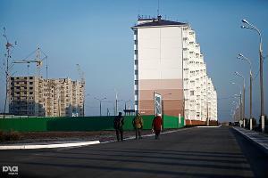 """Новый микрорайон """"Надежда"""" в Крымске для пострадавших от наводнения 7 июля 2012 года ©Геннадий Аносов, ЮГА.ру"""