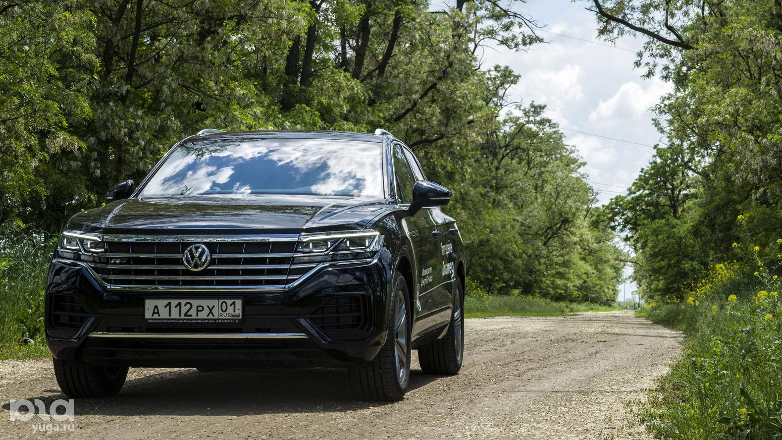 Тест-драйв Volkswagen Touareg ©Фото Евгения Мельченко