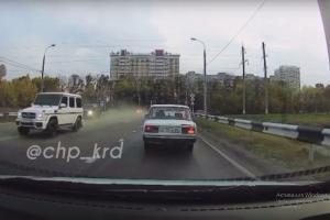 ©Скриншот видео из ВК-паблика «ЧП Краснодар», vk.com/krd_chp