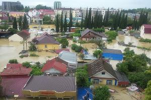 Наводнение в Сочи 25 июня 2015 года. ©http://www.blogsochi.ru