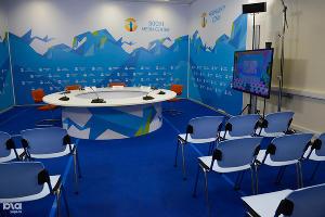 Медиацентр для неаккредитованной прессы в Сочи ©Нина Зотина, ЮГА.ру