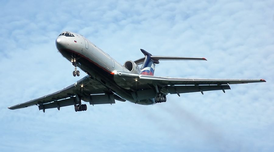 Ту-154 ©pixabay.com